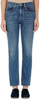 Brock Collection Women's Selvedge-Denim Straight-Leg Jeans-NAVY