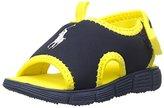 Polo Ralph Lauren Wave croft II N Stretch PU/YLW Sport Sandal (Toddler)