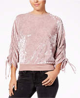 Ultra Flirt Juniors' Crushed Velvet Sweatshirt