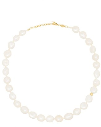 Anni Lu Stellar 18kt gold-plated pearl necklace