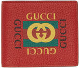 Gucci Red Logo Wallet