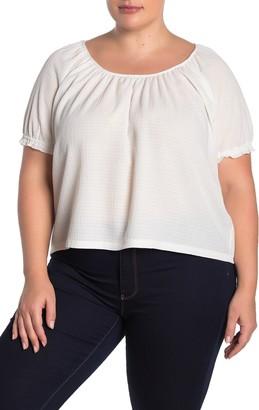 Madewell Texture & Thread Peasant Top (Regular & Plus Size)