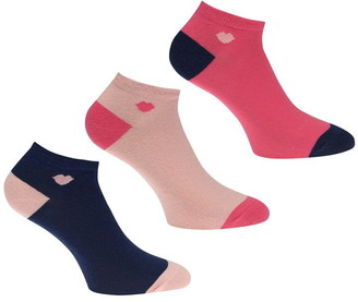 Lulu Guinness Small Lip Trainer Socks
