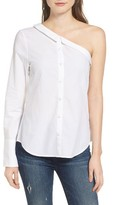 DL1961 Women's Central Park One-Shoulder Shirt