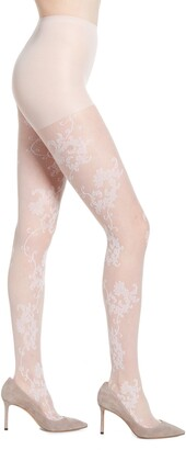 Nordstrom Spring Floral Lace Tights