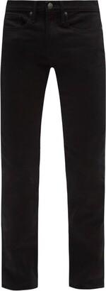 Frame L'homme Slim-leg Jeans - Mens - Black