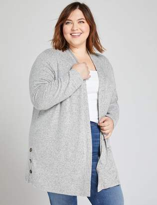 Lane Bryant Softest Touch Button-Side Duster