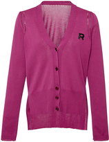 Rochas Cotton Cardigan with Logo Detail