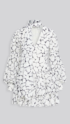 Aje Rebellion Lace Mini Dress