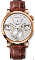 A. Lange & Söhne 140.032 Zeitwerk 18K Rose Gold 41.9mm Watch