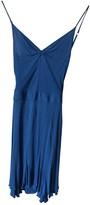 CNC Costume National Blue Cotton Dress for Women