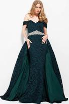 Jovani 51901 Off the Shoulder Embellished Evening Gown