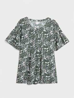 Gap Maternity Pintuck Top in Modal