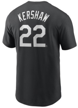 Nike Men's Clayton Kershaw Los Angeles Dodgers Name and Number Player T-Shirt