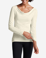 Eddie Bauer Women's Girl On The Go® Drape-Neck Top