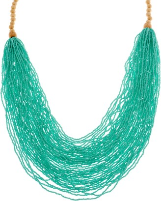 """Joan Rivers Classics Collection Joan Rivers Seedbead Layered 32"""" Necklace"""