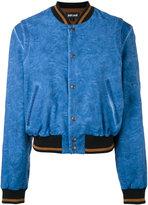Just Cavalli stripe detail bomber jacket - women - Cotton/Spandex/Elastane/Viscose - 40