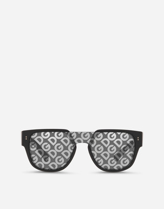 Dolce & Gabbana Domenico Mask Sunglasses