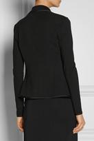 Donna Karan Modern Icons belted stretch-ponte jacket