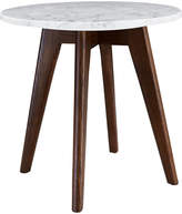 16 Elliot Way Riley Marble Round Side Table