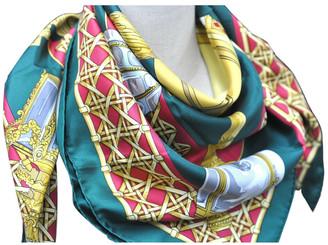 Hermã ̈S HermAs Green Silk Scarves