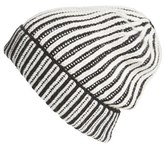 Free People Women's Berkley Two Tone Beanie - Black