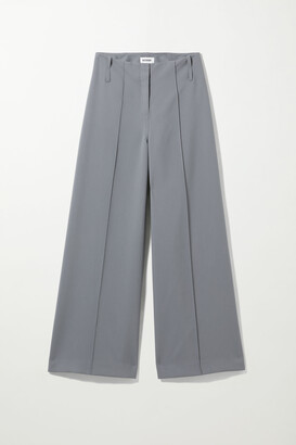 Weekday Petra Trouser - Grey