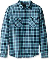 RVCA Men's That'Ll Work Flannel