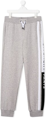 Givenchy Kids Logo Lined Drawstring Track Pants