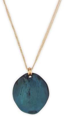 Robert Lee Morris Soho Goldtone Pendant Necklace
