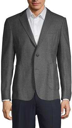 HUGO BOSS Standard-Fit Wool Blazer