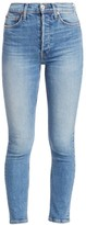 RE/DONE Heavyweight Stretch High-Rise Ankle Jeans