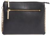 Halogen Leather Crossbody Bag - Black