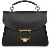 Salvatore Ferragamo Margot Gancini top handle black bag