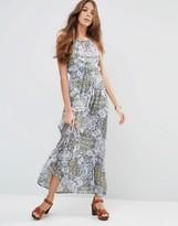Raga Sunset Blues Maxi Dress