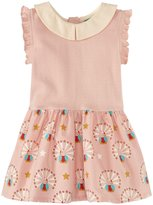 Little Green Radicals Peter Pan Dress (Baby) - Pale Pink-9 Months