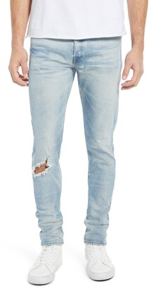 John Elliott The Cast 2 Ripped Slim Tapered Fit Jeans