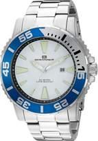 Oceanaut Men's OC2912 Marletta Analog Display Quartz Silver Watch