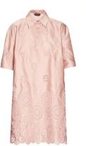 Rochas San Gallo duchesse-lace dress