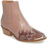 Topshop Women's 'Arson' Western Ankle Boots