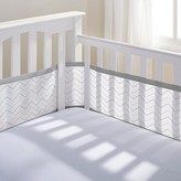 BreathableBaby Breathable Baby® Chevron Mesh Crib Liner