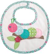 Mud Pie Pink & Blue Polka Dot Caterpillar Bib