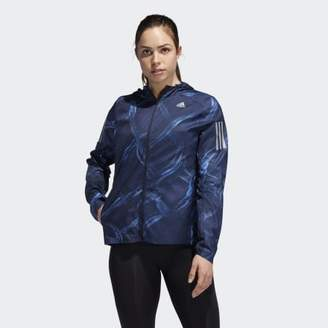 adidas Own the Run Graphic Jacket