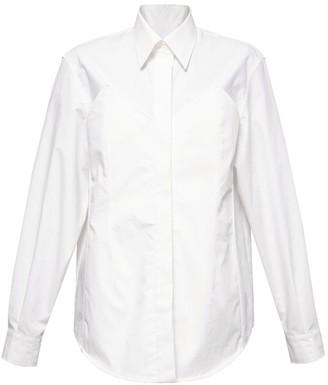 pushBUTTON Bustier Detail Shirt