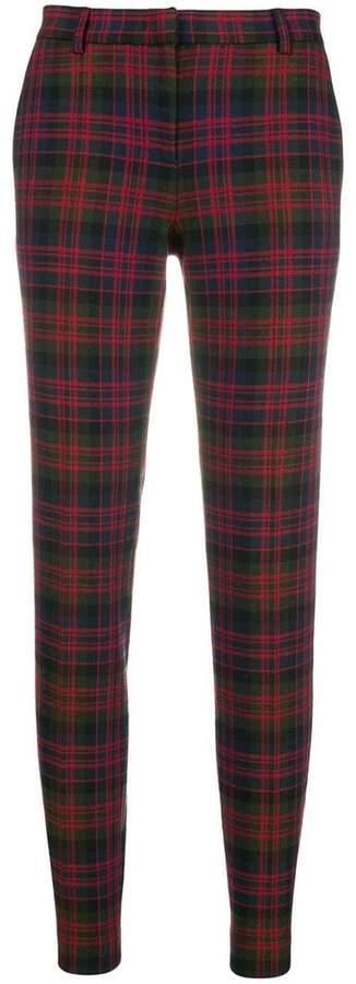 Philosophy di Lorenzo Serafini checked trousers