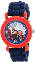 Marvel Boy's 'Avenger' Quartz Plastic and Silicone Casual Watch