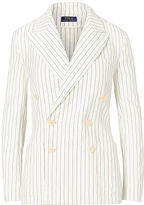 Polo Ralph Lauren Striped Double-Breasted Blazer