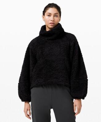 Lululemon Warm Restore Sherpa Pullover