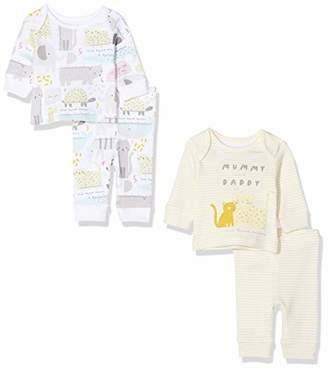 Mothercare Baby U M&D 2PK PJ Pyjama Sets,6-9 Months (Size:74)