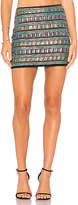 Endless Rose Sequin Mini Skirt in Black
